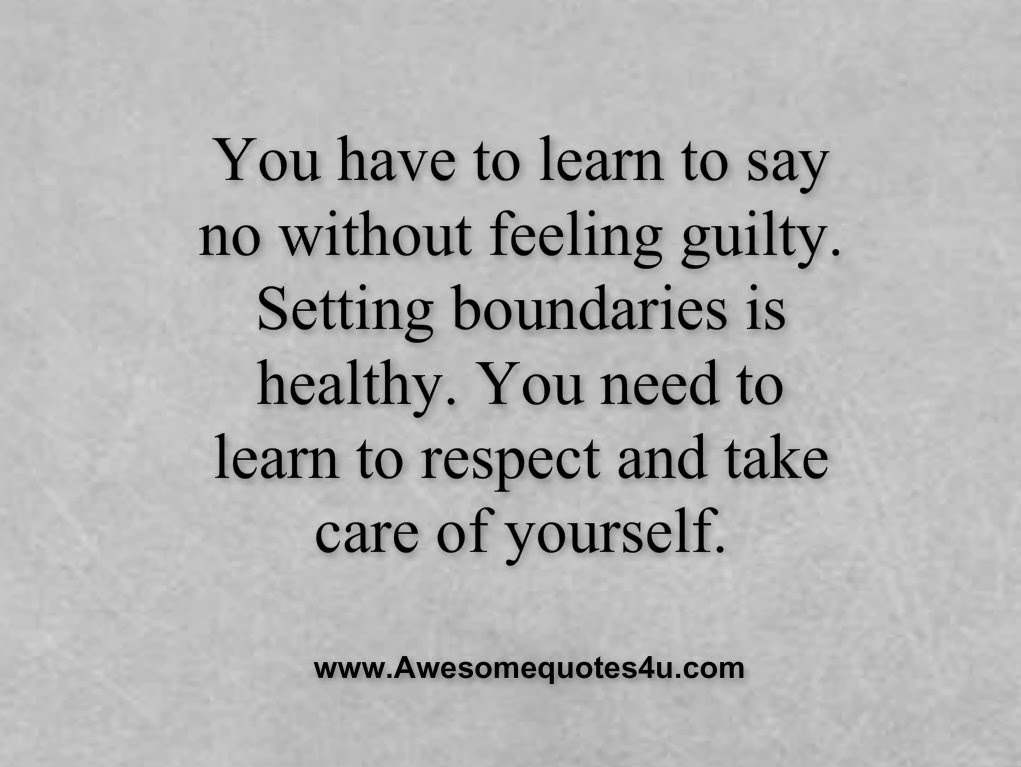 Quotes About Say No 990 Quotes