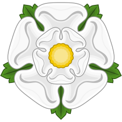File:White Rose Badge of York.svg