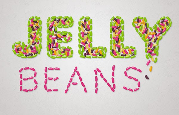 How to Create a Delicious Jelly Bean Text Effect in Photoshop