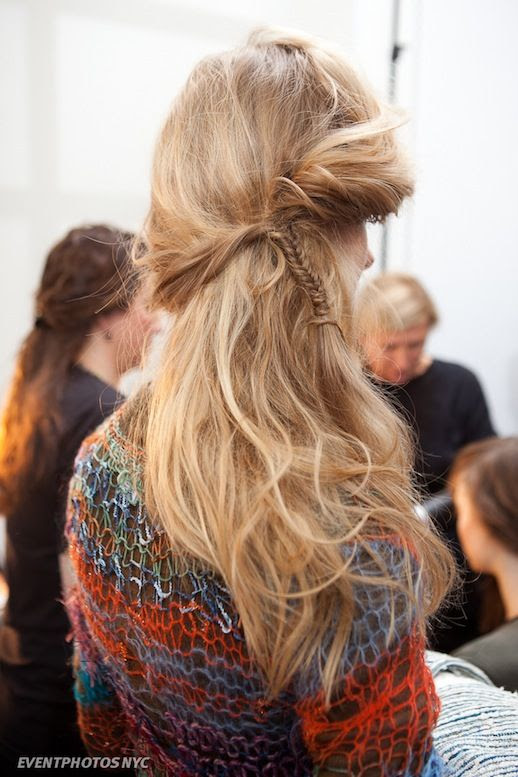 Le Fashion Blog -- 30 Inspiring Fishtail Braids -- Thin Half Up Braid Rodarte Hair Style -- Event Photos NYC -- photo 8-Le-Fashion-Blog-30-Inspiring-Fishtail-Braids-Thin-Half-Up-Braid-Rodarte-Hair-Style-Event-Photos-NYC.jpg