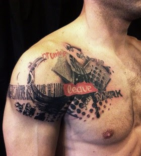 Amazing Eagle Chest Tattoo By David Allen Tattoomagz