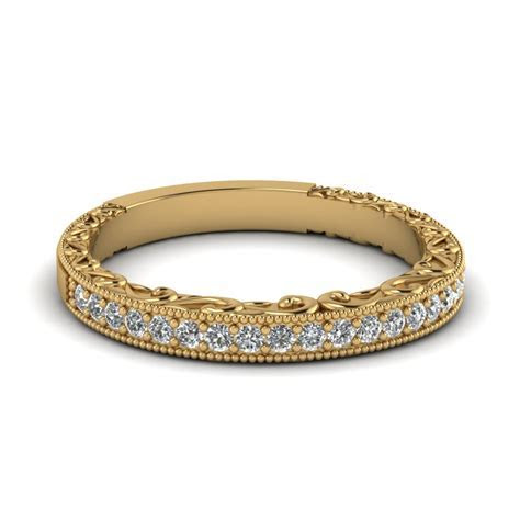 Buy Eternal Yellow Gold Womens Wedding Bands Online