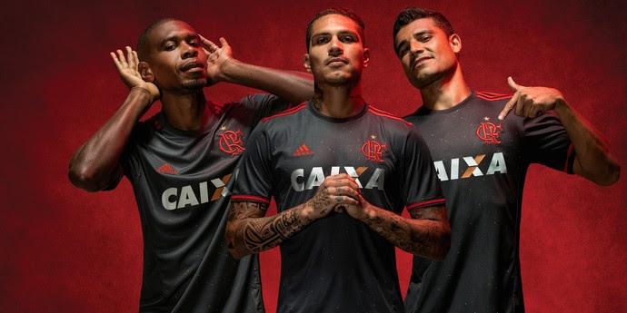 Camisa nova Flamengo (Foto: Gilvan de Souza / Flamengo)