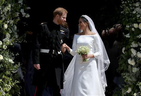 Meghan Markle Had a Something Blue for Her Wedding Gown   Time