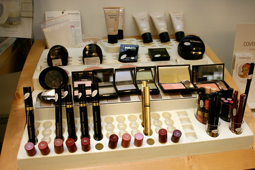 Organic cosmetics from Dr Hauschka - these are just testers