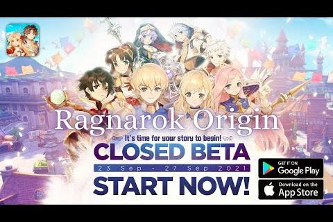 Ragnarok Origin - Mobile Gameplay Closed Beta (NA Server)