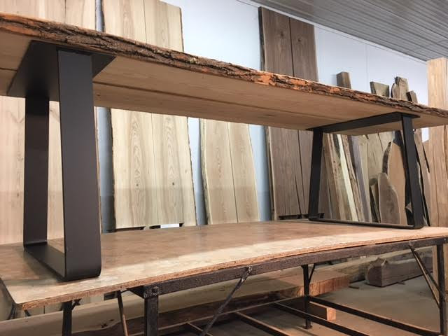 OhioWoodlands Dining Table Base. Steel dining table legs. Dining Table Base. Dining Table Legs