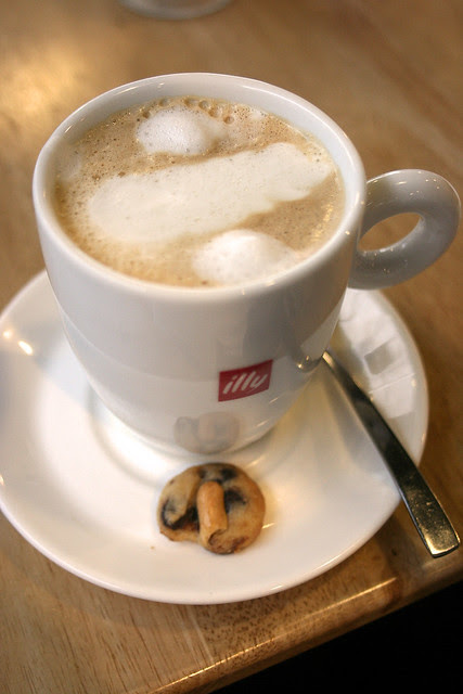 They serve illy coffee
