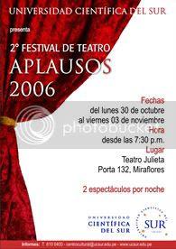 Mas alla del Borde este Jueves 2 de Noviembre en Teatro Julieta