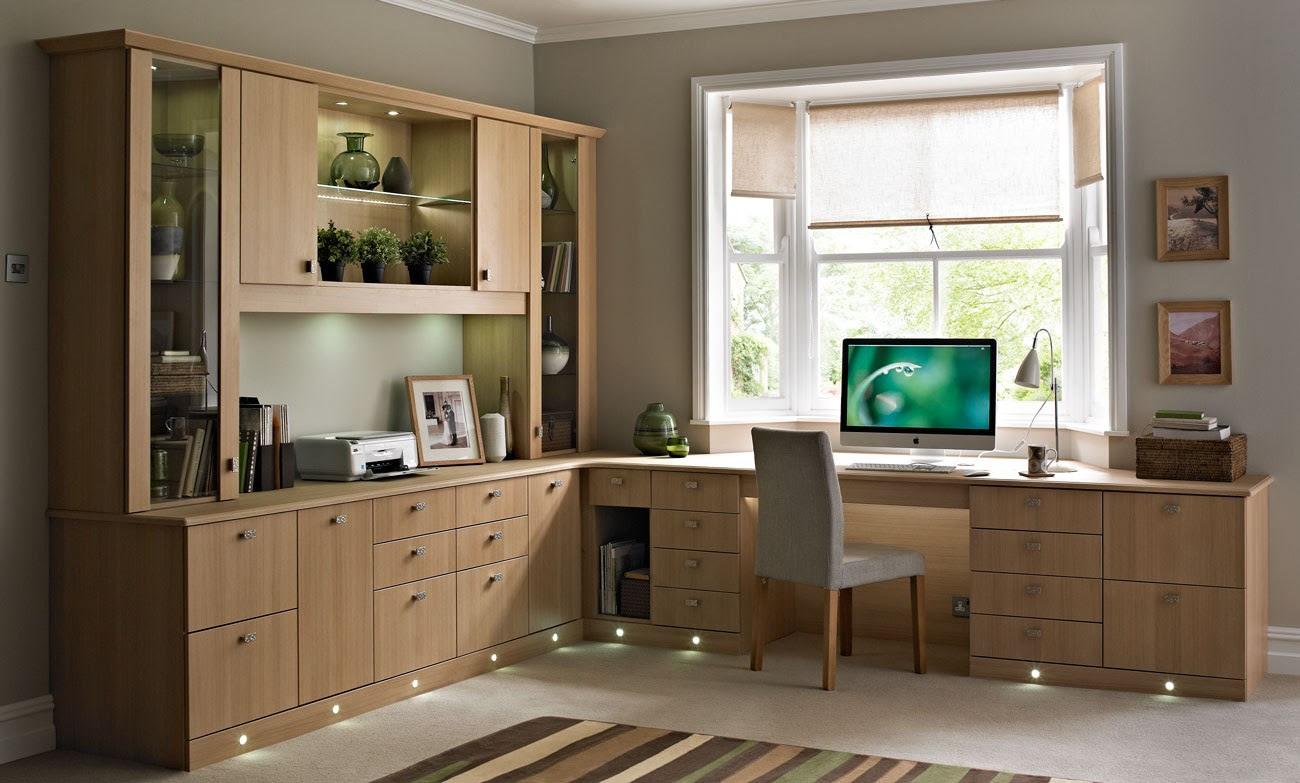 Home office floor lights
