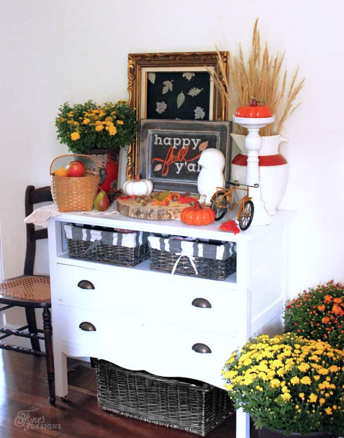 Fall Vignette display from Fynes Designs