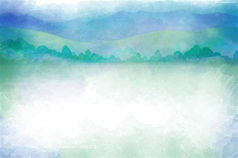 Watercolor Pastel Landscape Background Image, Simple