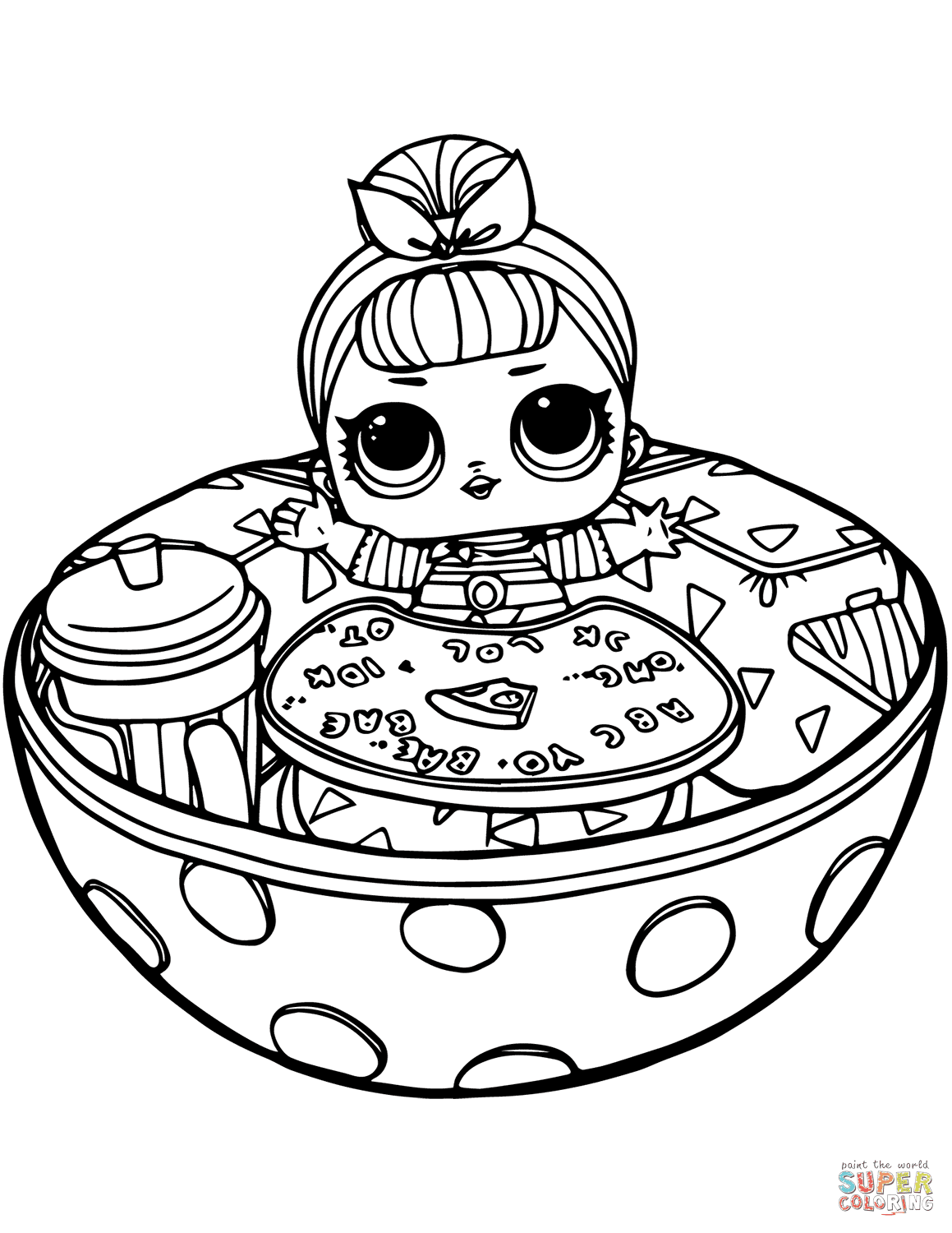 lol doll coloring pages printable That are Exhilarating ...