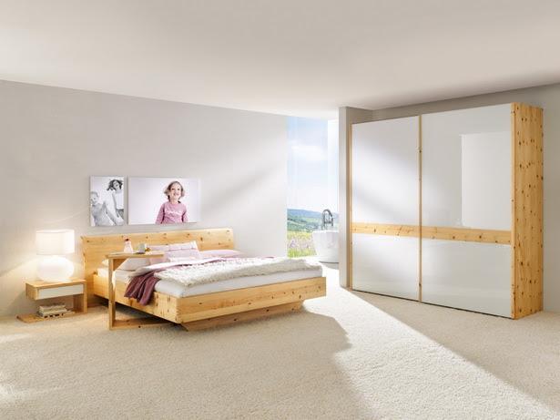 Bedrooms Design In Pine Wood - Interior Design Inspirations