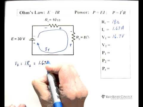 Worksheet Series Circuit Problems Episode 903 Answers - Geotwitter