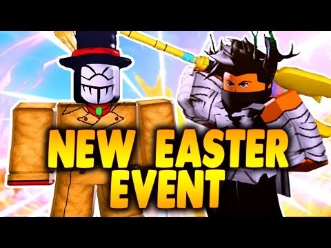 How To Get New Easter Event Staff New Easter Event Boss In Boku No