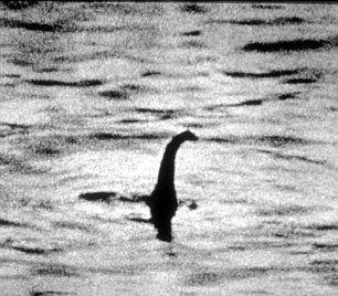 Famous: Perhaps the most famous picture of Nessie was taken by Robert Kenneth Wilson, a London gynaecologist, it was published in the Daily Mail on 21 April 1934