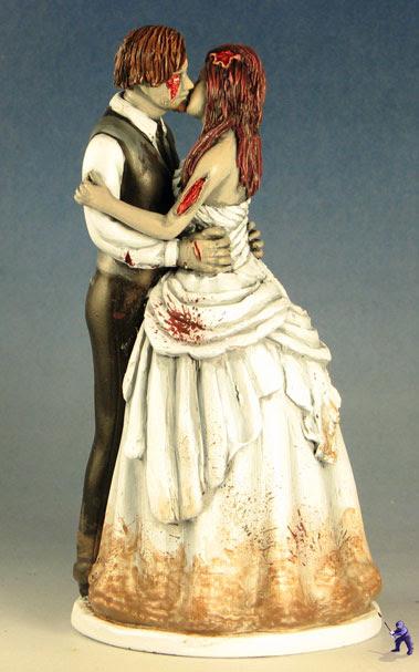 The undead happy couple