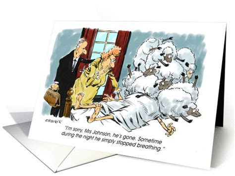 Amusing belated birthday wish excuse cartoon card (1272276)