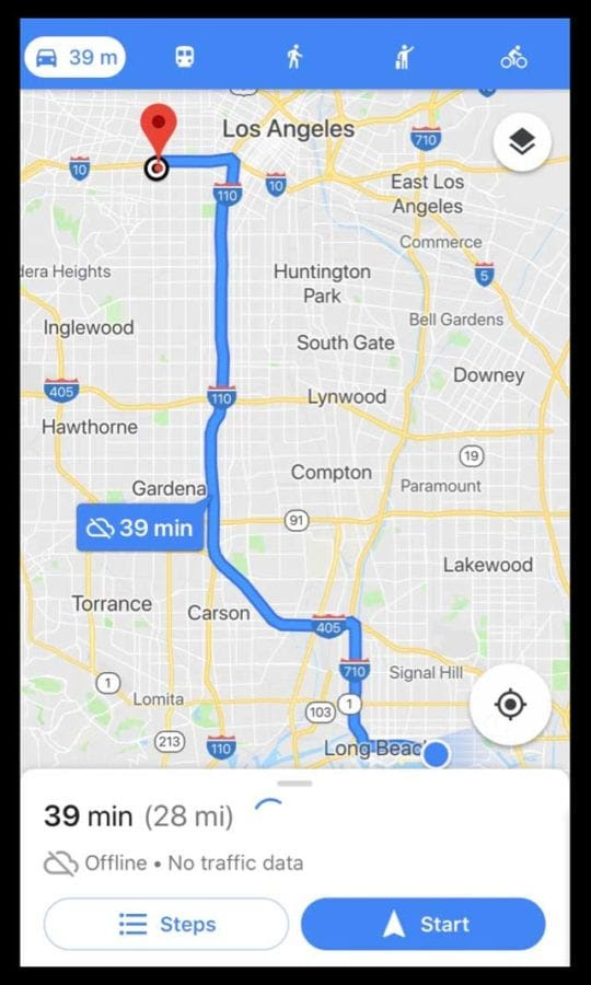 How To Download Offline Maps Routes In Google Maps