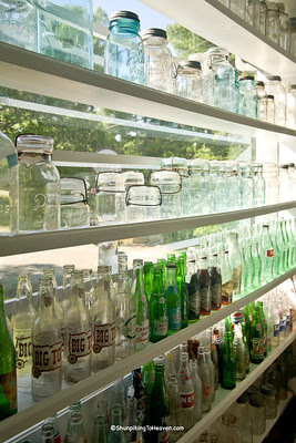 Antique Jars and Bottles, Patterson's Mill Country Store, Chapel Hill, North Carolina
