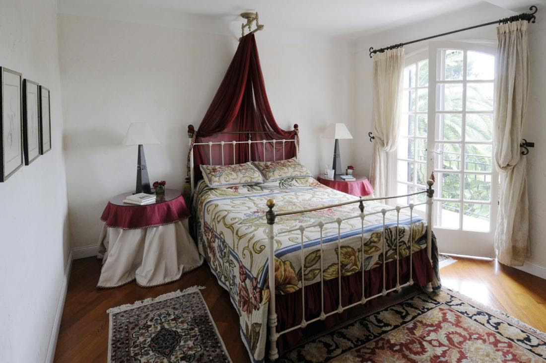 Bedroom double french country interiors | Interior Design Ideas.