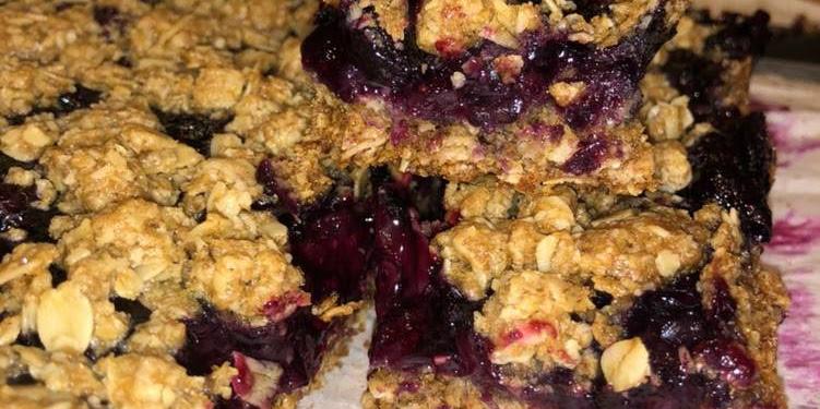 Recipe: Tasty Blueberry Oatmeal Bars