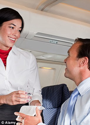 A design for life: Follow these simple rules, and your flight can be more like this (left), and less like Jack (right)