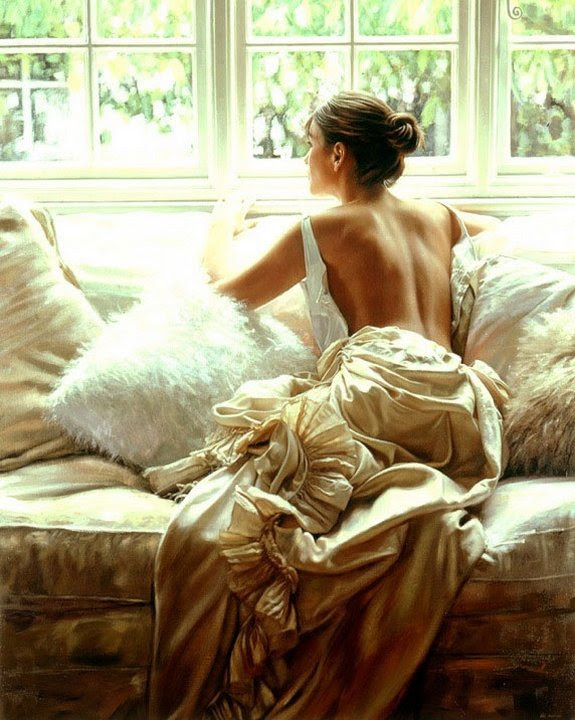 Elegant Women in Paintings of Rob Hefferan