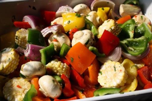 Vegetarian Recipe, BBQ Marinate Sauce, 4th of July Menu