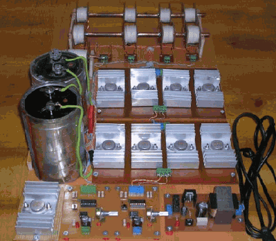 Electro Magnetic Launcher Project