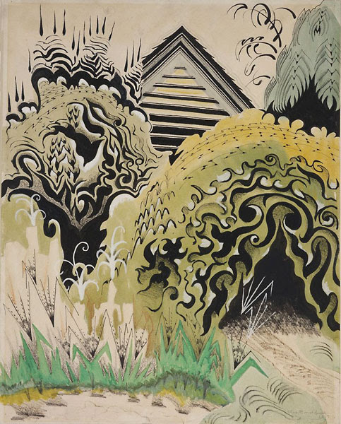 The Insect Chorus, 1917, by Charles E. Burchfield