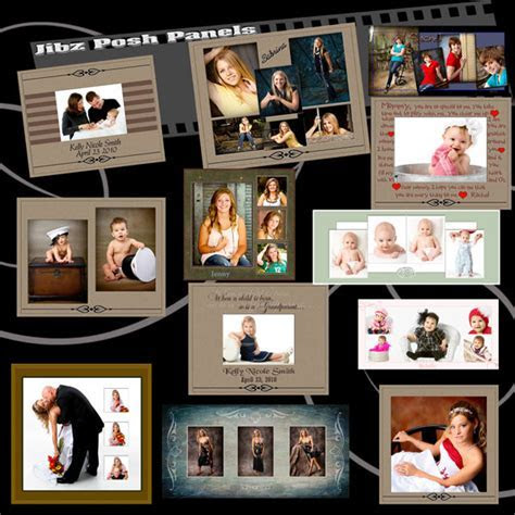 12 Grunge Collage Template PSD Images   Twitter Templates