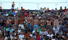 España vencía en las gradas gracias al buen juego desarrollado durante el campeonato.