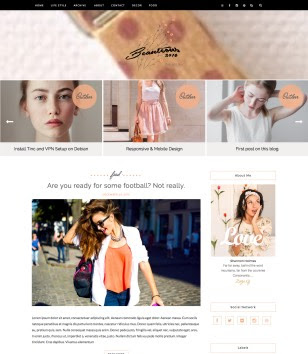 Beauteous Carousel Blogger Templates