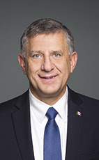 Photo - Ted Falk - Click to open the Member of Parliament profile
