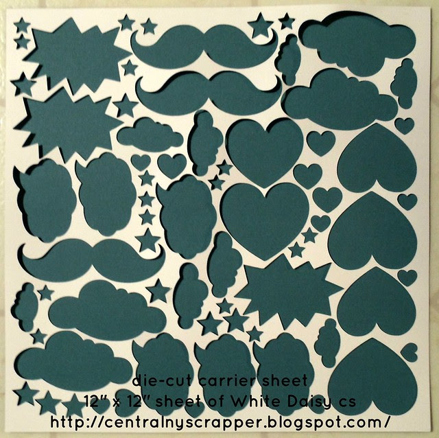 CloudNineDieCut12x12CarrierSheet