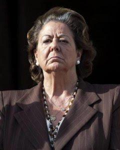 Rita Barberá, exalcaldesa de Valencia. / EFE
