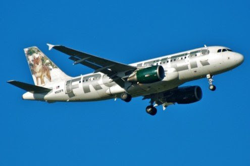 Frontier Airbus A319 N920Fr - Photo © Brian Guerra - pinkfroot.com