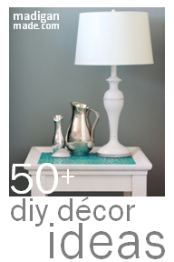 Simple Decorating Ideas ~ Madigan Made { simple DIY ideas