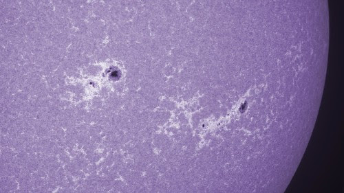ar11818 ar11817 CaK colour by Mark Townley