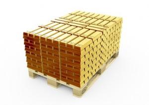 Goldbarren Palette (rcx - Fotolia.com)
