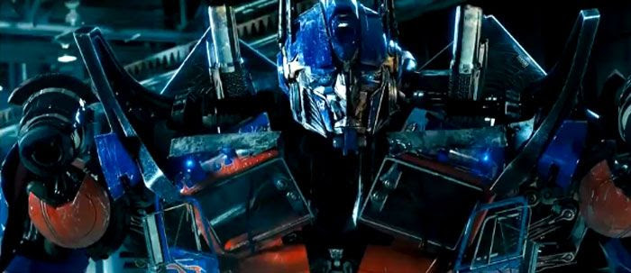 Optimus Prime in TRANSFORMERS: DARK OF THE MOON.