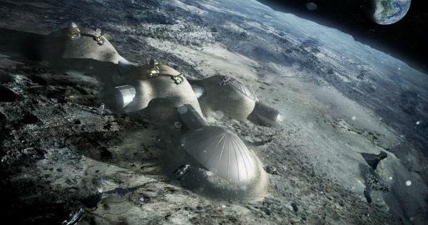 Ρομπότ θα κατασκευάζουν σπίτια στη Σελήνη!
