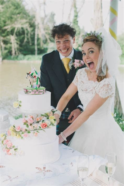 A Thespian Wedding with a Focus on the Ceremony: Theresa