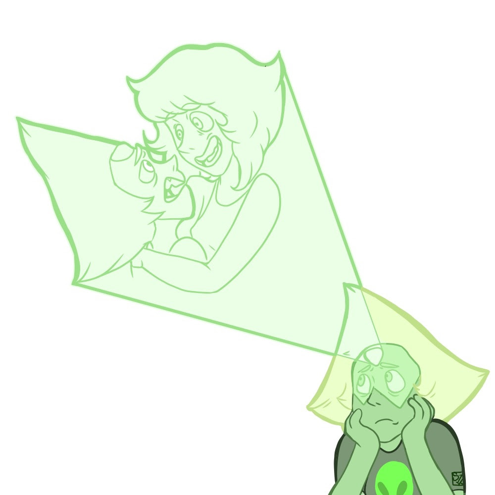 peridot is missing her water witch