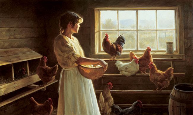 *The Egg Basket...by Robert Duncan