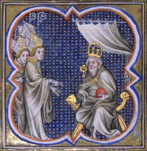 Carlos Magno recebe prelados, Contos e lendas medievais
