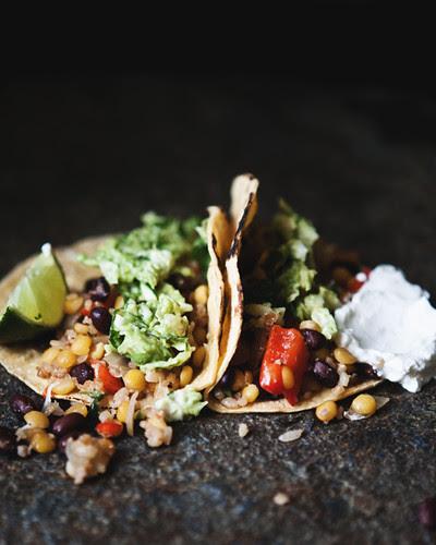 blackbean lentil bulgur tacos copy