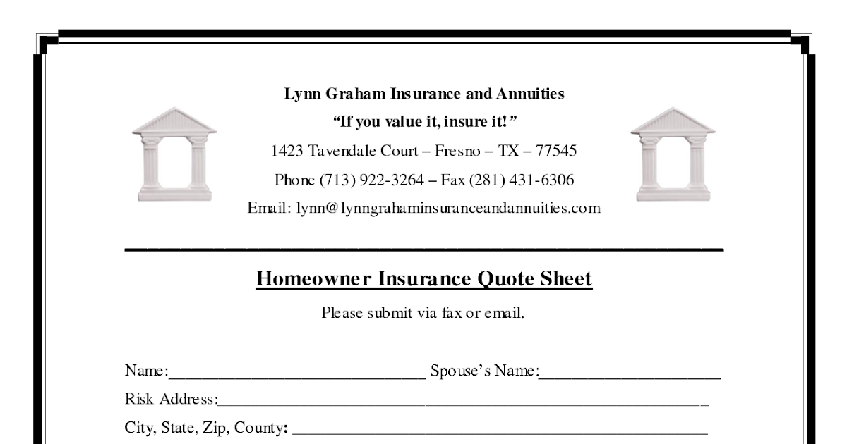Homeowners Insurance Quotes Quotesgram